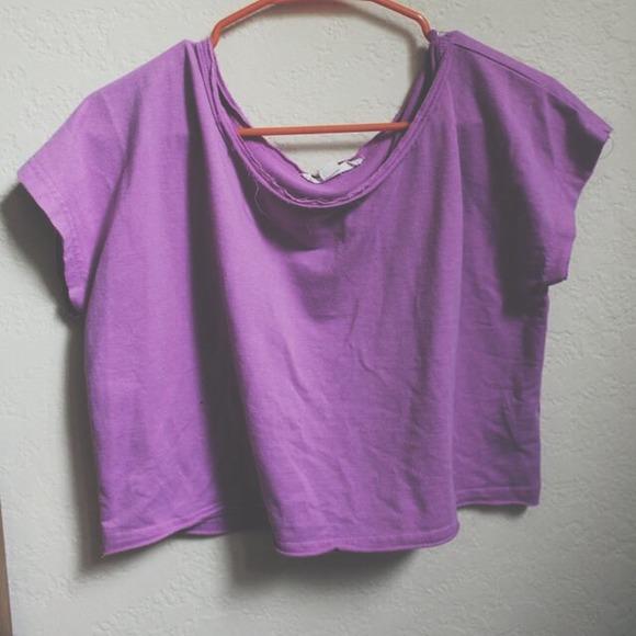 df51529491de1 Forever 21 Tops - Purple crop top