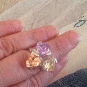 Jewelry - Triple Heart ring -size 7