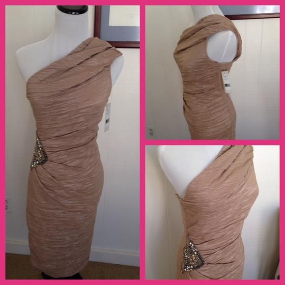 eliza j dresses eliza j missy one shoulder cocktail dress poshmark