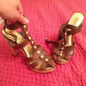 Michael Kors gladiator heels - MOVING SALE!