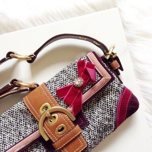 Coach Handbags - Coach Soho Rare Tweed Handbag Multi