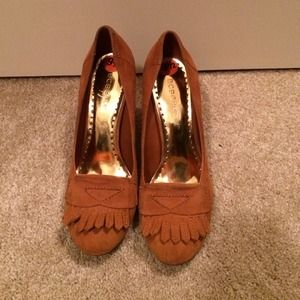 09e55e326b BCBG Girls Shoes - BCBG Girls rust suede pumps