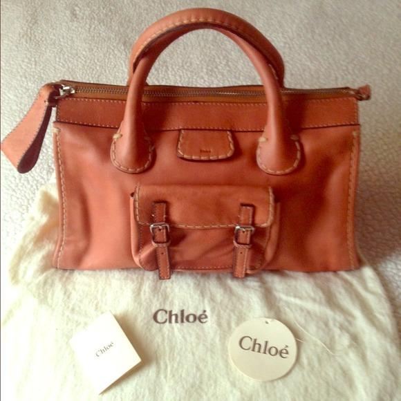 3b13d8048b2 Chloe Handbags - Chloe Edith satchel 100% authentic