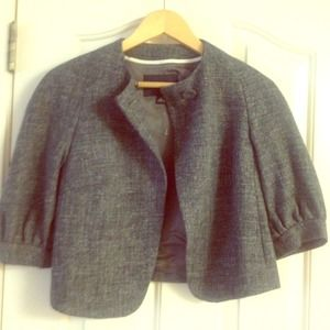 Grey , wool and hemp Blazer!