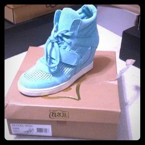 Ash Shoes - Cool mesh wedge sneakers