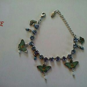 Jewelry - ⭐️SALE⭐️ Light blue butterfly bracelet