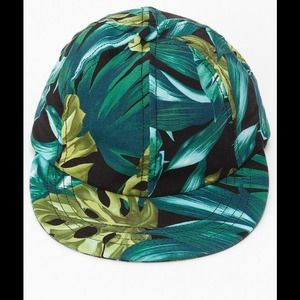 American Apparel Accessories - American Apparel Jungle Print SnapBack