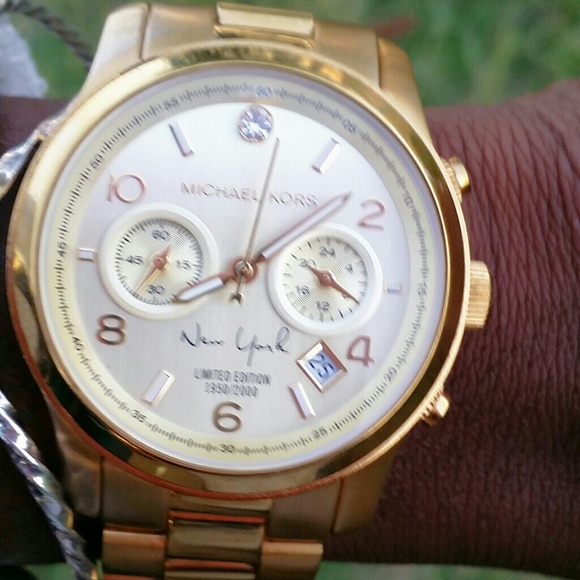 0a1f9607935e Michael Kors Limited Edition New York Runway watch