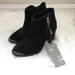 H&M Shoes - H&M Genuine Suede Booties