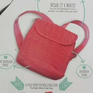 72% off Thirty-One Handbags - Thirty-One Vary You Backpack Purse ...