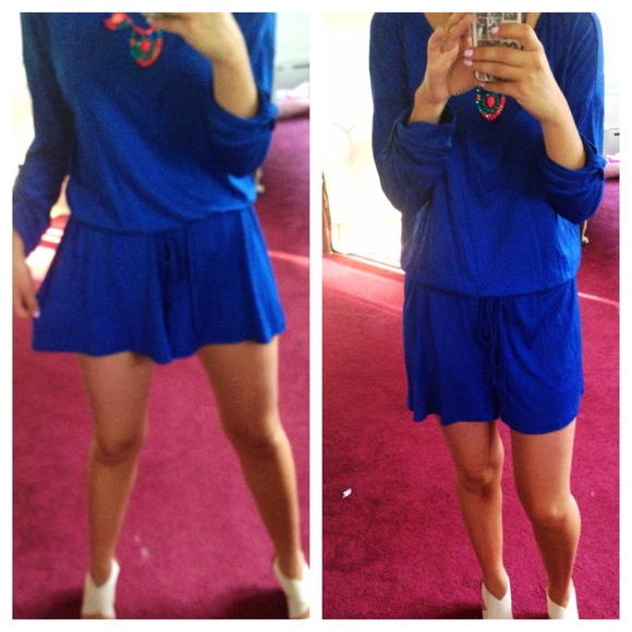 17% off Dresses & Skirts - ⬇ Royal Blue Lightweight Flowy Shorts ...