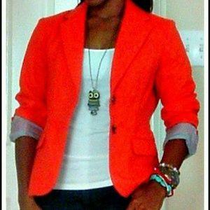 Orange Blazer!