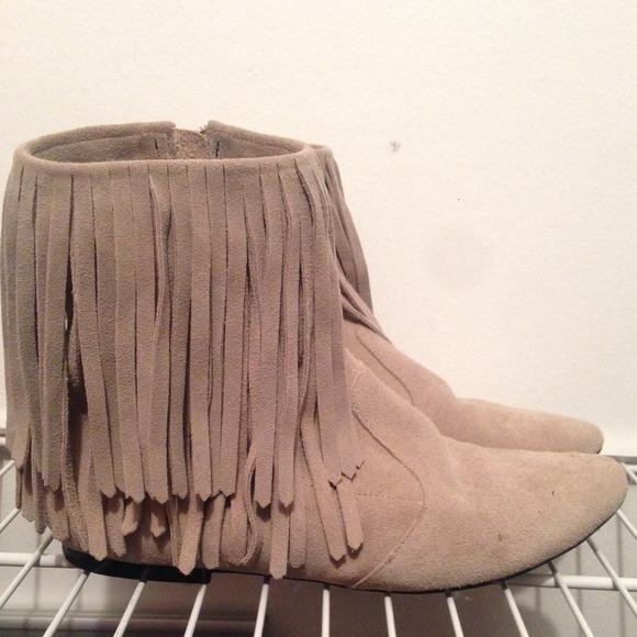 aa87f22aec3c Sam Edelman Fringe Ankle Boot. M 53b35eec4c47c00530007912