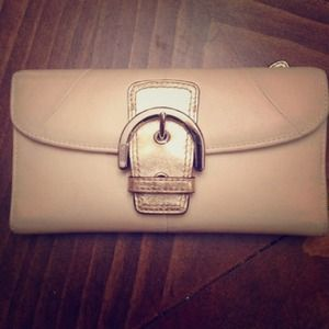 Coach Buckle Wallet