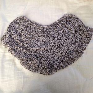 Brandy Melville Other - SOLD Brandy Melville leopard print vodi shorts