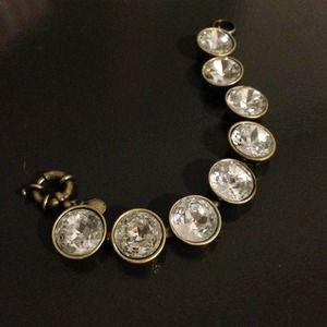 J. Crew crystal bracelet