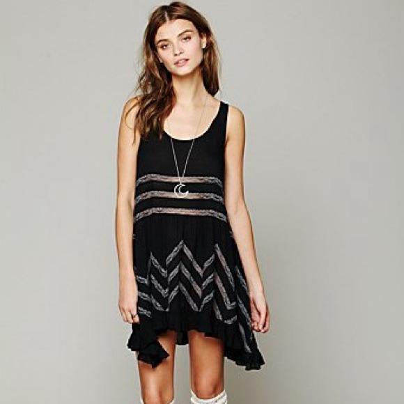 5f2daf4ef63 Free People Intimately Black Dress