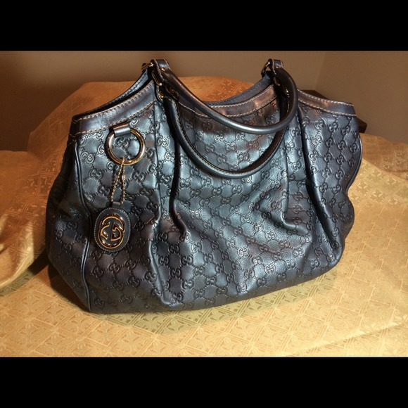 565e5daf17f8 Gucci Handbags - Gucci Sukey Guccissima large leather tote bag