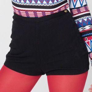 American Apparel tap shorts