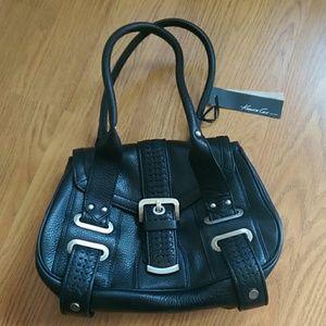 Kenneth Cole Handbags - Host pick! Kenneth Cole black leather purse