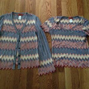 Missoni Sweaters - Authentic Missoni Sweater Set!