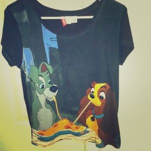 60 Off H M Tops Lady And The Tramp T Shirt From Nikki 39 S