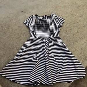 NASTY GAL SZ SMALL DIZZY STRIPED DRESS