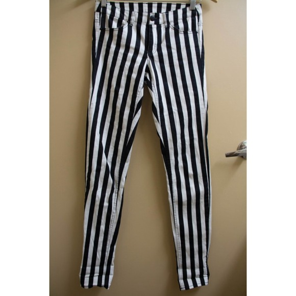 H&m Pants Vertical Striped