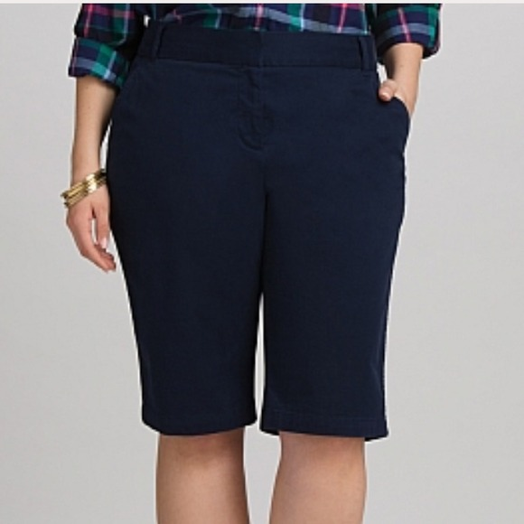 55% off Dress Barn Pants - Dressbarn Roz &amp ALI women 9&quot Navy ...
