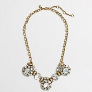  J. Crew Crystal Necklace