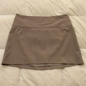 Express taupe mini skirt