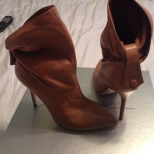 Brian Atwood Shoes - Brian Atwood camel boots 37