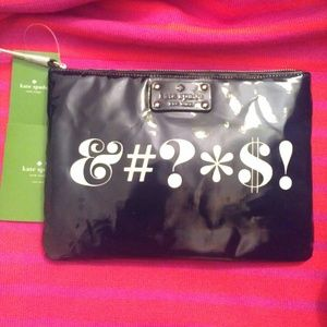 NWT Kate Spade Pardon My French Case Clutch Bag