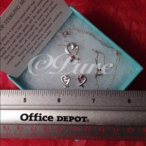 4c4e2e590 Tiffany & Co. Jewelry | Tiffany Co Loving Heart Pendant Earrings ...