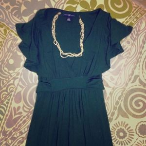 Hunter green GAP dress