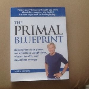 Other - The Primal Blueprint hardcover book - New