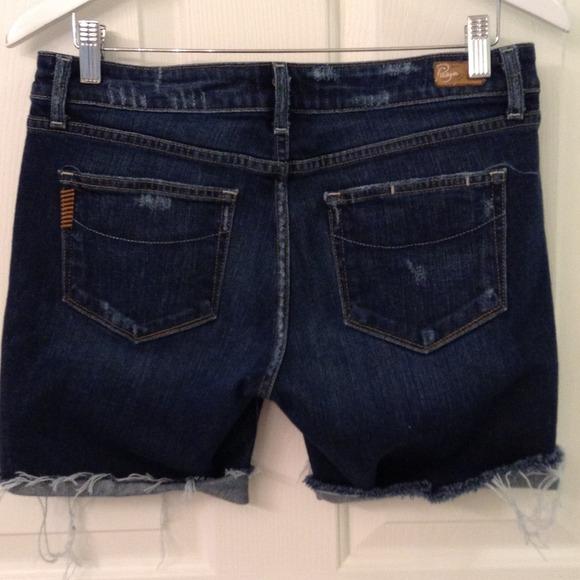 Paige Jeans Jeans - PAIGE CUTOFF SHORTS