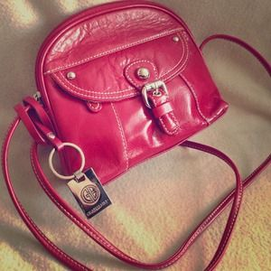 SOLD!!! Red Patent Leather Handbag -Giani Bernini-