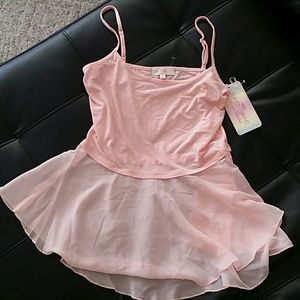 Beautiful pink peplum top