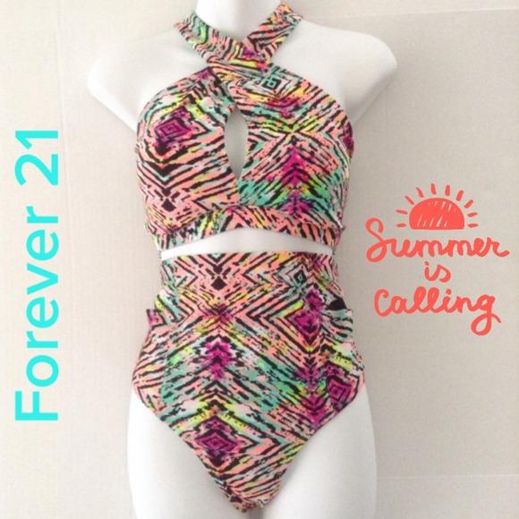 High Waisted Bikini Forever 21
