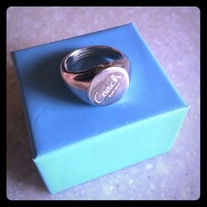 Coach Jewelry - Sterling Silver Coach Ring---REDUCED!!!