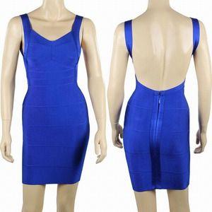 NWOT Cobalt bandage dress