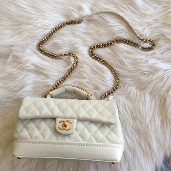 f891e7e61a5ee7 CHANEL Bags | Top Handle Flap Bag | Poshmark