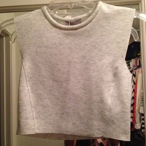 NWT Zara Suba Crop Top
