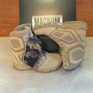 magnum Shoes - Ladies Vibram sole combat boots