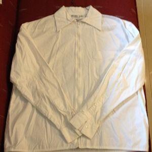 White cotton Michael Kors blouse