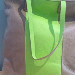 GAP Bags - Gap bold stripe leather bag
