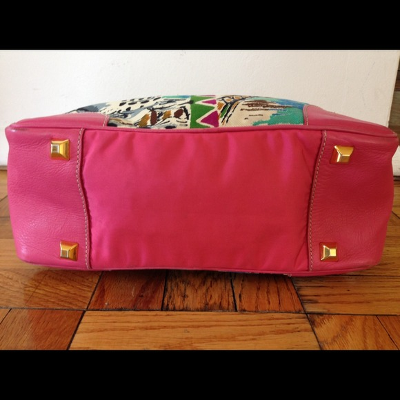 75% off Prada Handbags - Prada Vintage Limited Edition Canapa St ...