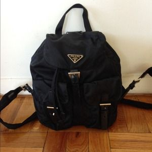 57% off Prada Handbags - Prada \u0026#39;Vela\u0026#39; vintage Nylon backpack from ...