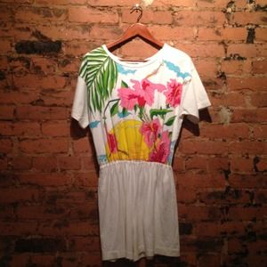 Vintage Tropical Jumper